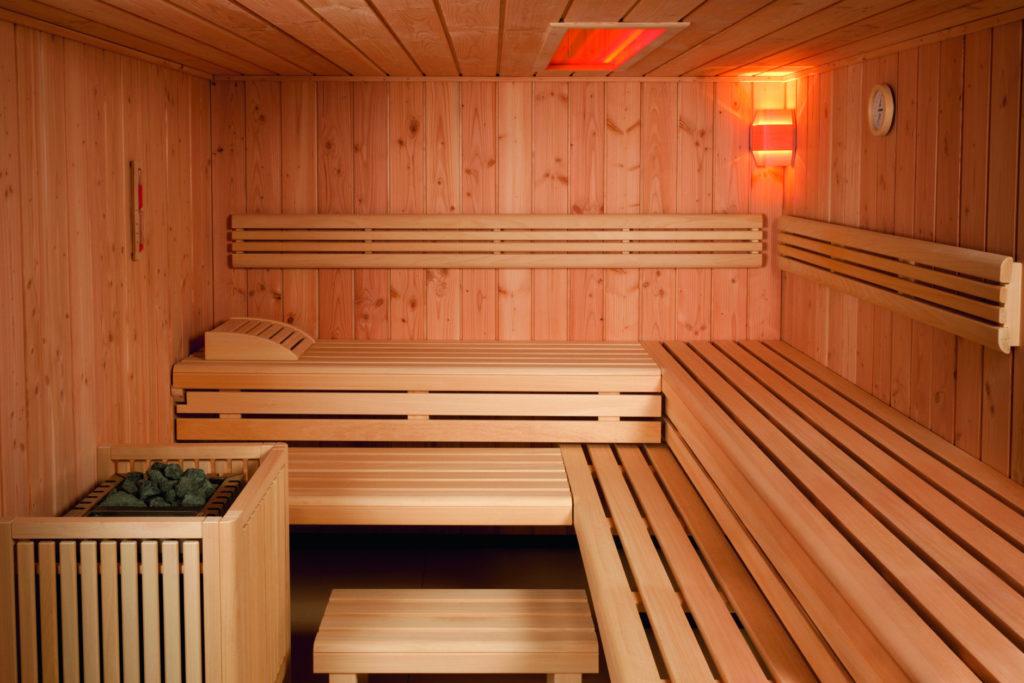 sauna baleo innen douglasie neu grischa wellness. Black Bedroom Furniture Sets. Home Design Ideas